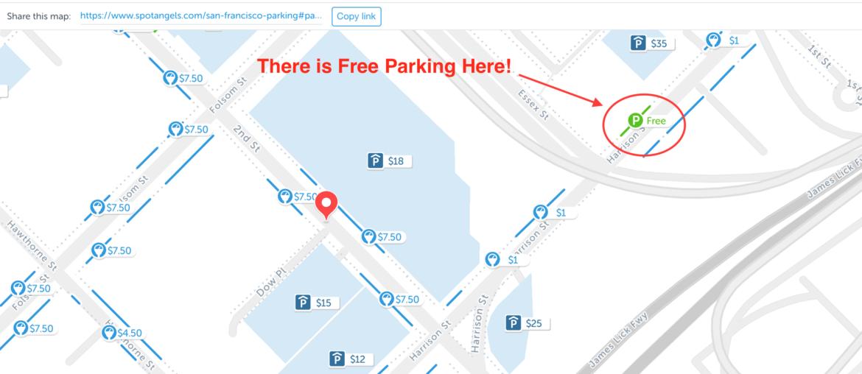 Free Parking San Francisco
