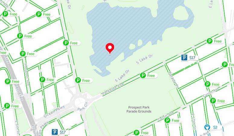 prospect park parking map nyc
