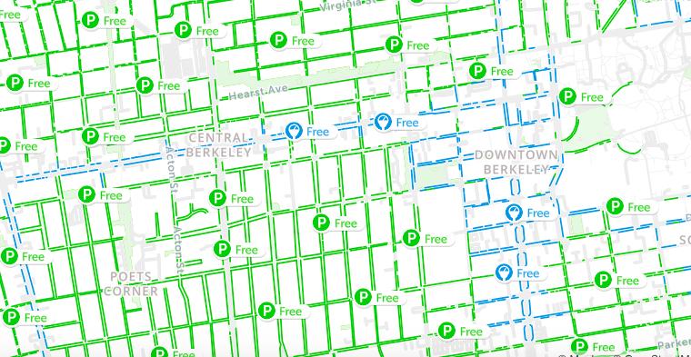 berkeley street sweeping map with schedule