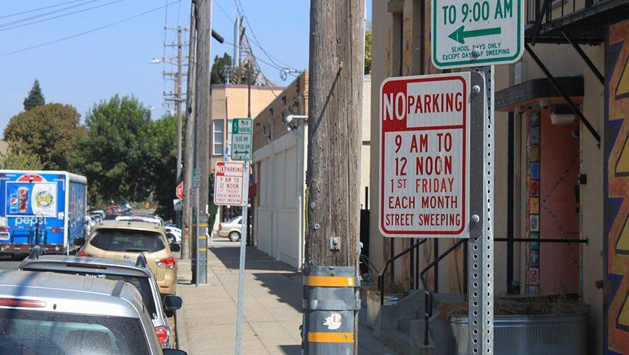 Berkeley Street Sweeping
