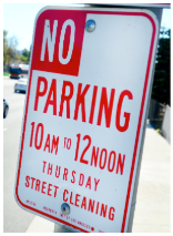 spot angels la street cleaning sign