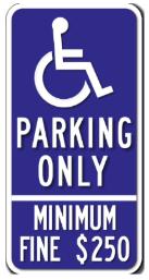 handicapped parking la spot angels