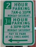 limited hour parking dc spot angels