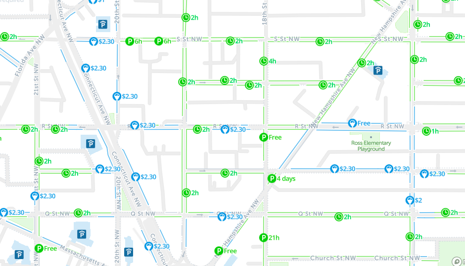 2019 Street Parking Washington Dc Ultimate Guide You Need