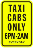 taxi cab parking seattle spot angels