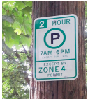 seattle residential parking permit sign spot angels
