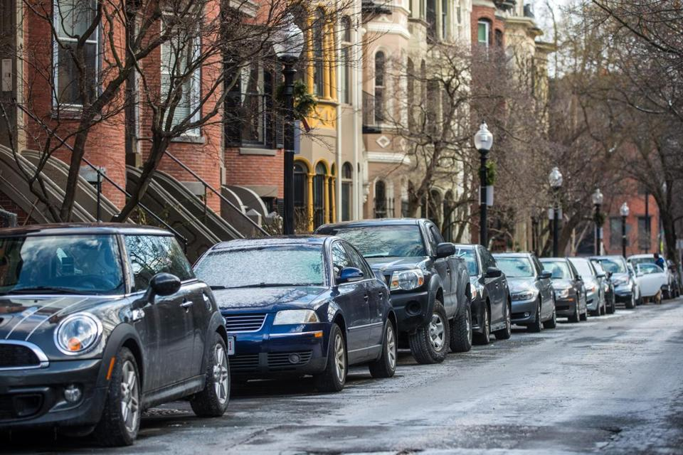 2021 Map Of Free Parking In Boston Spotangels
