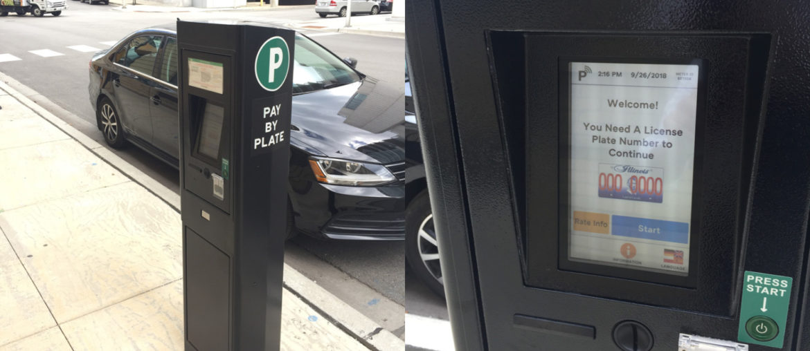 parking meters in chicago, free parking guide spot angels