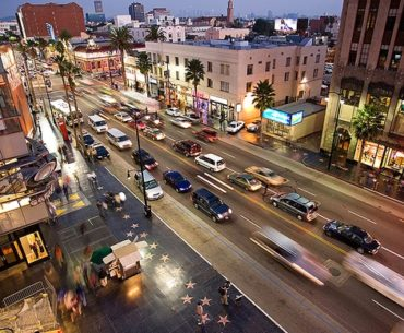 hollywood walk of fame parking