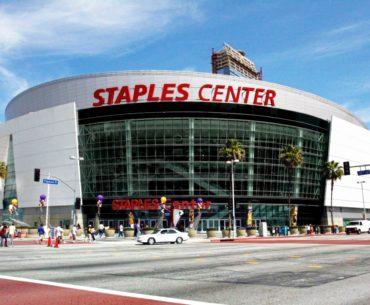 staples center parking spot angels