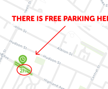 Free Parking Somerville
