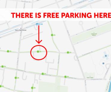 Brookline Parking Map