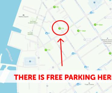 Key West Parking Map