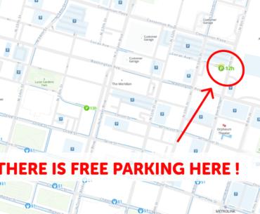 Saint Louis Parking Map