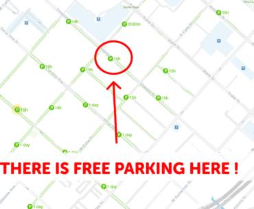 Santa Barbara Parking Map