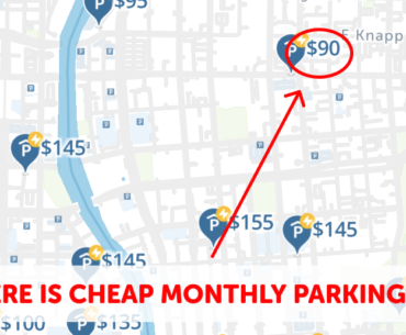 Milwaukee Monthly Parking Map