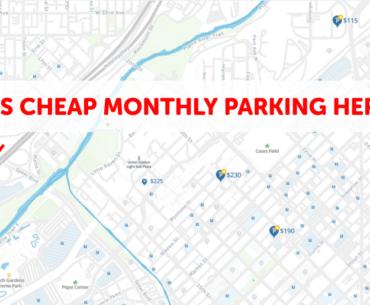 Denver Monthly Parking Map