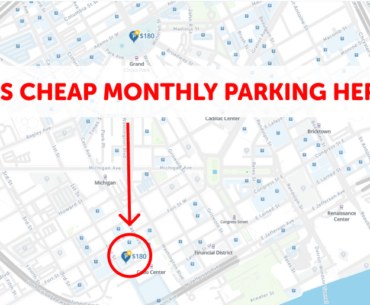Detroit Monthly Parking Map